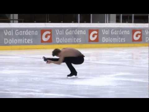 Adam Rippon  USA Val gardena spring trophy 2013 senior men free
