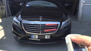 Mercedes s350 siren ve led Çakar sistem