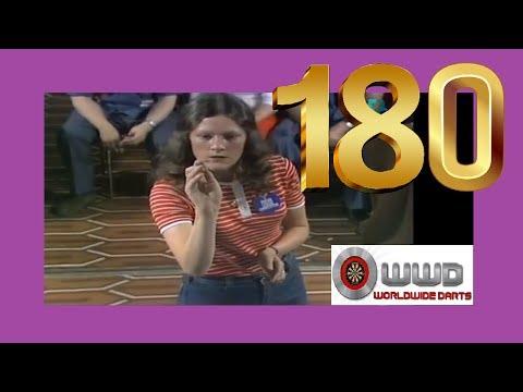 First Ever Televised Ladies 180 - Sandra Gibb