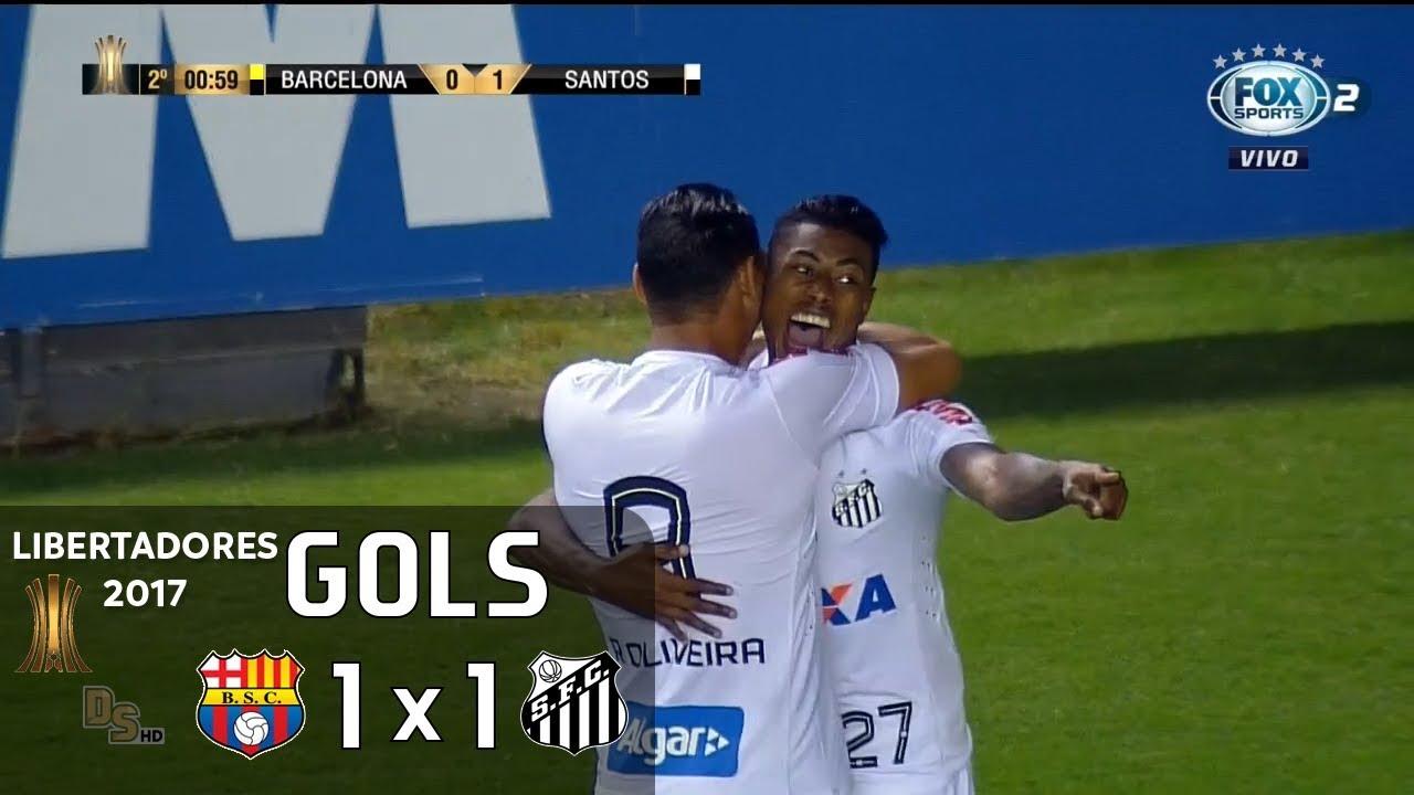 Barcelona SC(ECU) 1-1 Santos