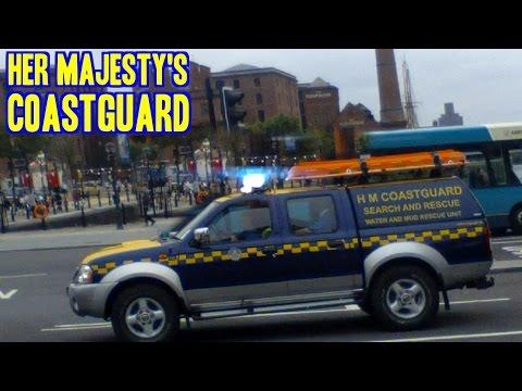 Coastguard responding - H.M. Water & Mud Rescue Nissan Navara