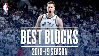 Brook Lopez's Best Blocks | 2018-19 Season | #NBABlockWeek