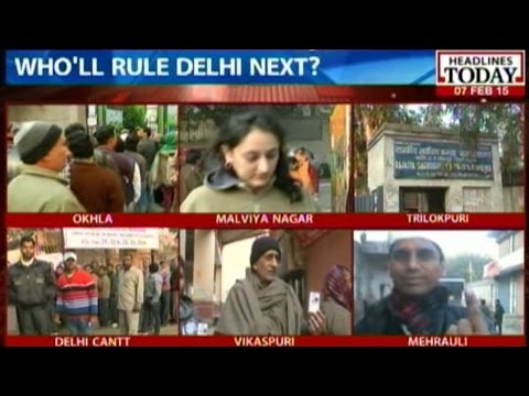 Delhi Elections: Almost 55.68 percent cast their vote