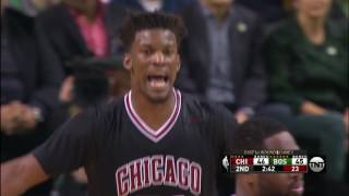 Dwyane Wade and Jimmy Butler Score 40 Points in Game 5 in Boston | April 26, 2017