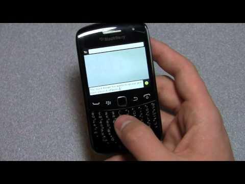 BlackBerry Curve 9360 Review Part 1