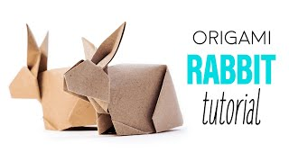 Origami Bunny Rabbit Tutorial V2 ♥︎ DIY ♥︎