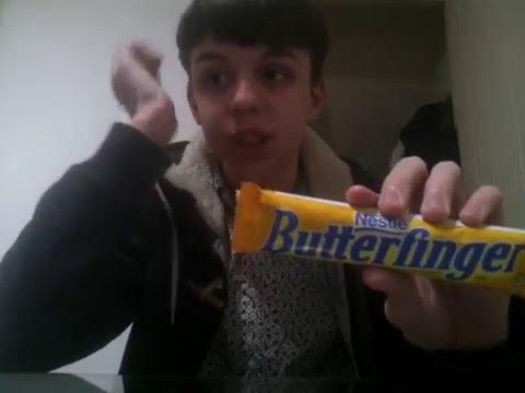 TASTE TEST REVIEW : BUTTERFINGER CANDY BAR
