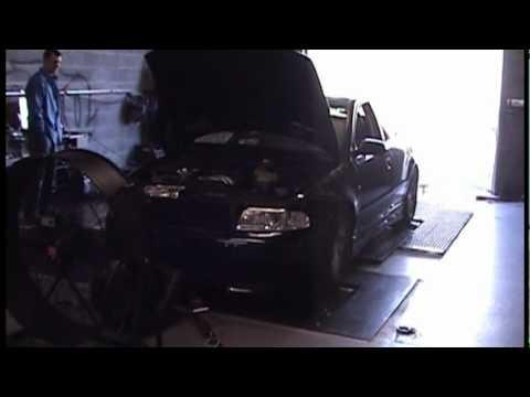 Audi A4 B5 2.8 G1 Supercharged Dyno