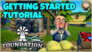 Foundation City Builder - Getting Started Tutorial - Hints And Tips