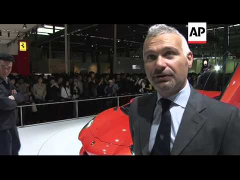 Luxury cars at China's Auto Shanghai Show