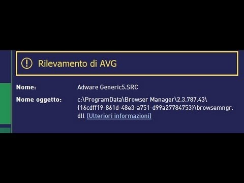 How to  Remove AVG Detects adware generic5.SRC Virus(removal guide)