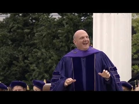 Steve Ballmer 2014 UW Commencement Speech