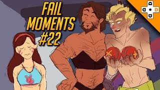 Overwatch FAIL MOMENTS #22 | Poor D.Va Can't Ult! - Highlights Montage