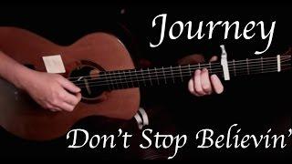 Journey Don 39 T Stop Believin 39 Fingerstyle Guitar