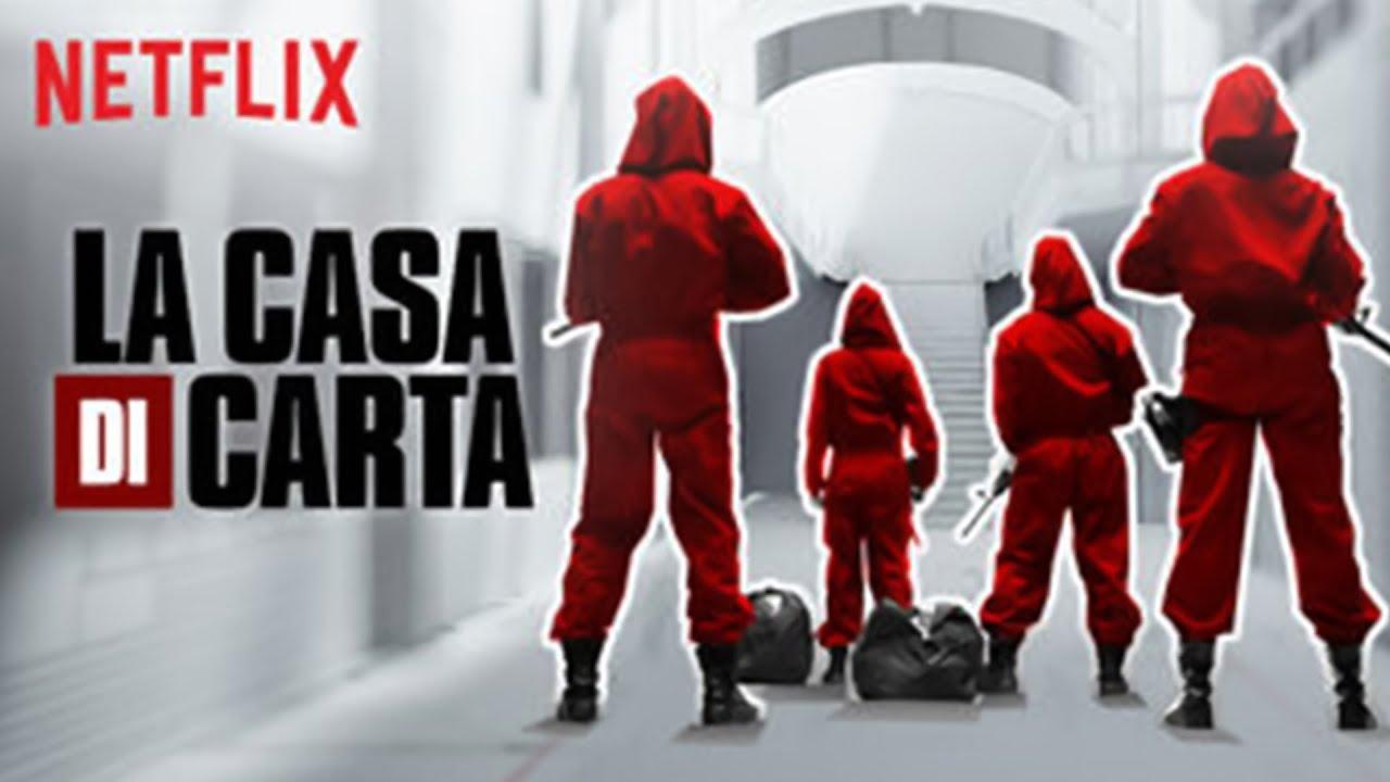 La Casa Di Carta Trailer Italiano Netflix De Papel Youtube