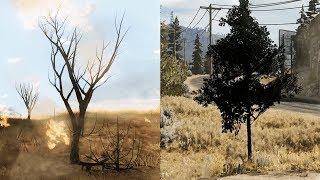 Far Cry 2 details vs Far Cry 5