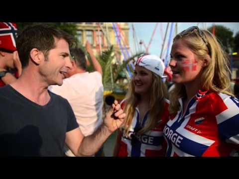 Tour De France  - Final Stage on Norwegian Corner