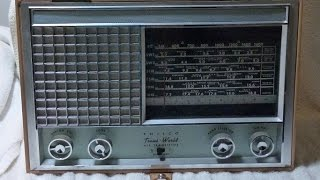 1958 Philco T9 Trans World transistor radio (made in USA!)