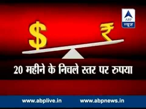Rupee closes at 20-month low; it is 64.24 against dollar