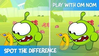 Spot the Difference - Om Nom Stories: Super-Noms (Cut the Rope)
