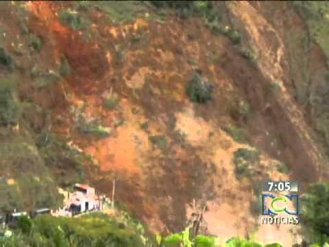 Alud de Tierra en Colombia (Noticias RCN)