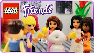 ♥ LEGO Friends Heartlake City Shoping & Art Galery Brunch