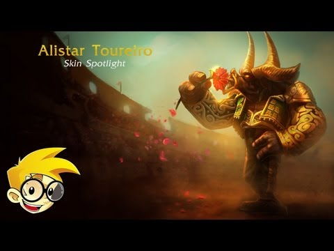 League of Legends Skin Spotlight - Alistar Toureiro