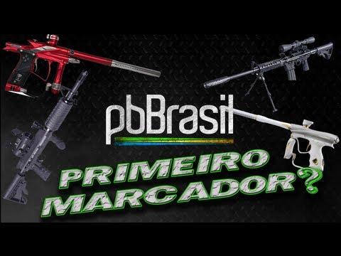 Paintball Brasil - Primeiro Marcador de Paintball Qual escolher?