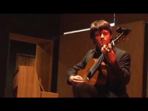 Maxixe, Agustín Barrios Mangoré - David Calderón (Costa Rica)