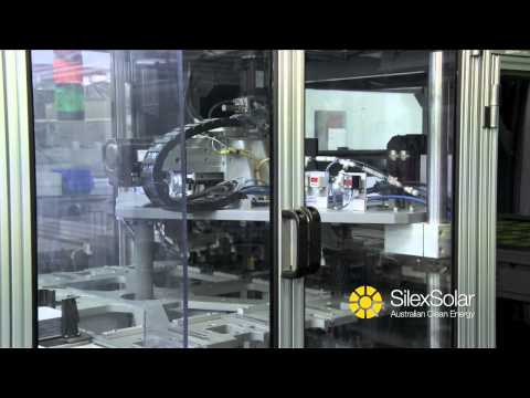 SilexSolar Cell Line and Solar Panel Production