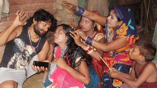 Bhojpuri Comedy || मोबाइल फोन खातिर भाई बाहन में झागड़ा || khesari 2,Neha ji ,Chhota chirkut ji