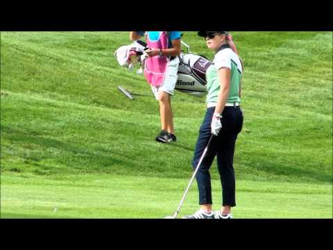 Ai Miyazato eagles at Evian Championship 2013