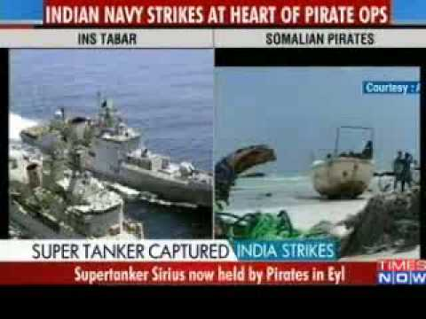 Indian Navy foils Somali Pirates