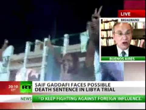 Saif al Islam Gaddafi captured in Libya - Interview RT 20Nov2011