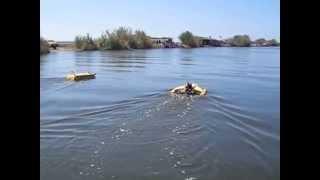 rc fishing boat falcon35 katana45 trimaran