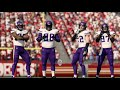 Madden 20 Simulation - Minnesota Vikings vs San Francisco 49ers - Divisional - Simulation Nation