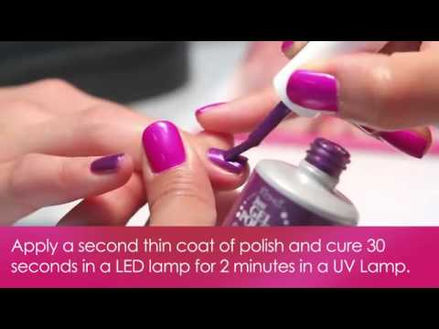IBD Just Gel Instructional How To Apply Just Gel Polish