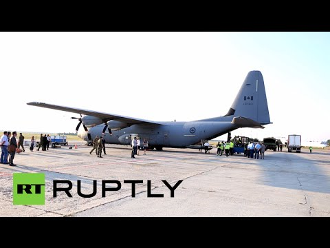 Video: NATO plane arrives in Ukraine with $4.5 mn worth of military aid