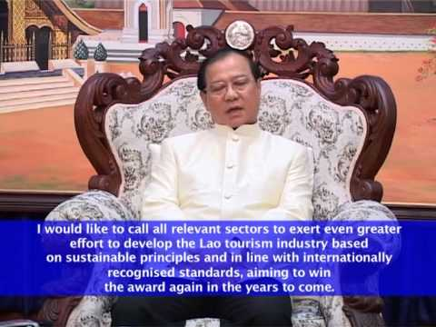 Lao News on LNTV- Laos wins the World's Best Tourist Destination Award for 2013