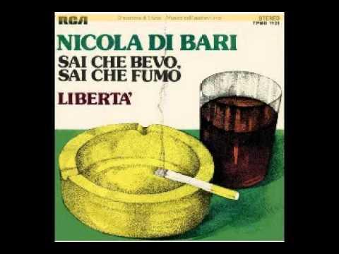 Nicola Di Bari Sai che bevo sai che fumo