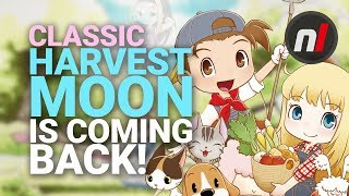 Harvest Moon Friends of Mineral Town is Getting a Remake on Nintendo Switch