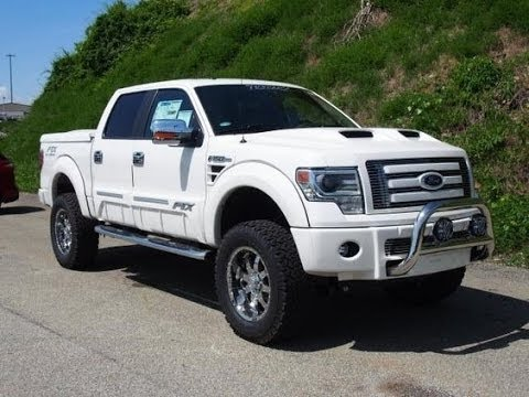2014 Ford F150 Lariat FTX Tuscany Lifted Truck - YouTube