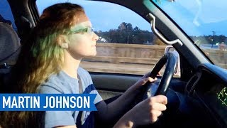 She is finally driving! How did she do?