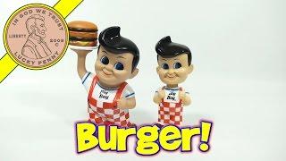 Big Boy 75th Anniversary Restaurant Merchandise - Bobble Head & Coin Bank