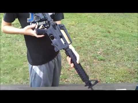 Shooting Mossberg Tactical 715T (part 1 of 2)