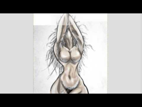 HOW TO DRAW BIG BOOBS part 2 the nipple