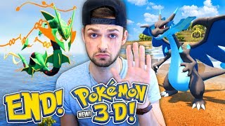 the end of pokemon 3d 😭👋   we summoned the best pokemon for you