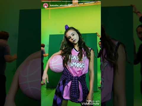 Катя Адушкина снимает клип на свою песню !?/ Ждете ?
