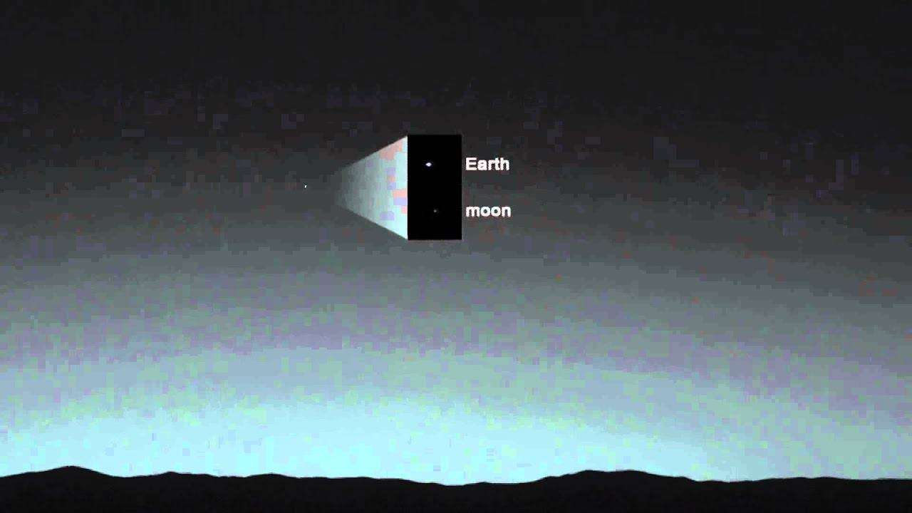 Eclipse of Mars moons Curiosity rover captures