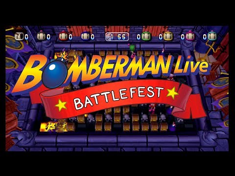 Bomberman Live Battlefest Tournament - Qualifying Round [1/2]